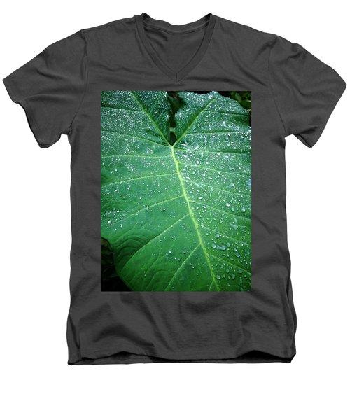 Galaxy Rain Men's V-Neck T-Shirt