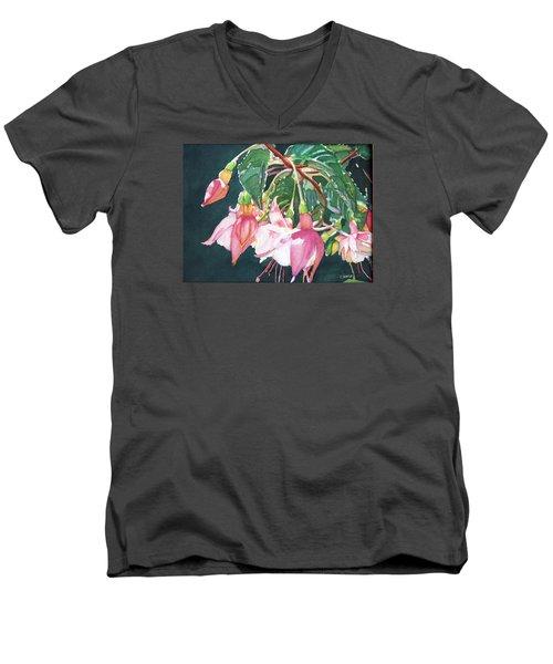 Garden Ballerinas Men's V-Neck T-Shirt