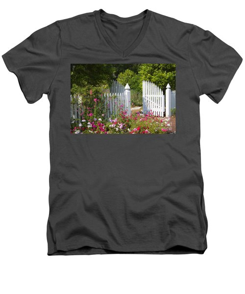 Garden Gate Men's V-Neck T-Shirt