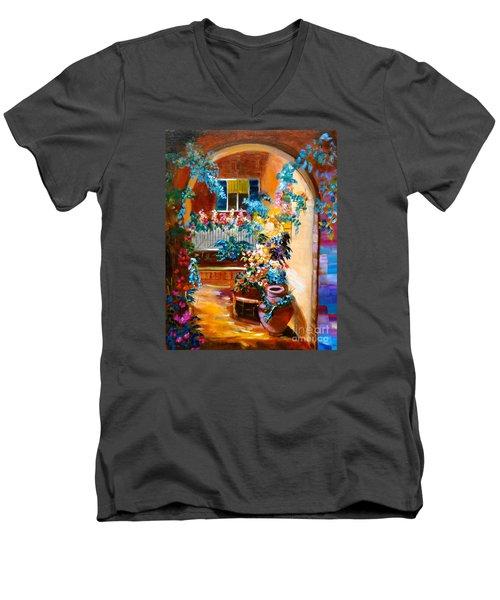Garden Gazebo Men's V-Neck T-Shirt