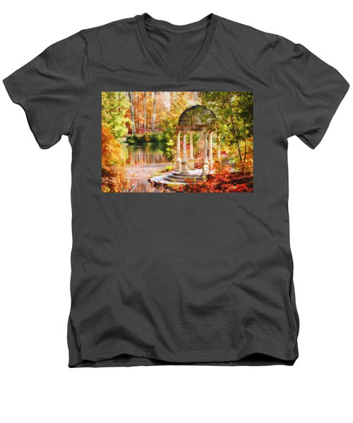 Garden Of Beauty Men's V-Neck T-Shirt