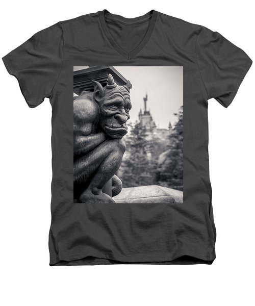 Gargoyle Men's V-Neck T-Shirt