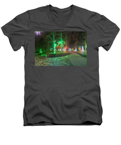 Candy Cane Men's V-Neck T-Shirt