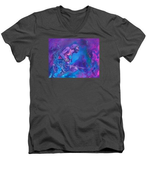 Gary Clark Jr. Men's V-Neck T-Shirt