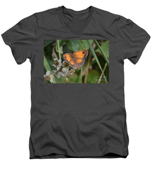 Gatekeeper Butteryfly Men's V-Neck T-Shirt