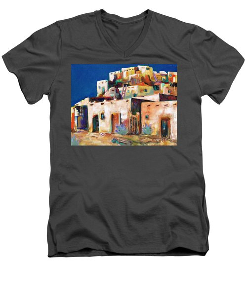 Gateway Into  The  Pueblo Men's V-Neck T-Shirt