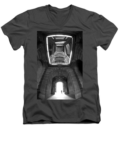Gateway To A Forgotten Land Men's V-Neck T-Shirt