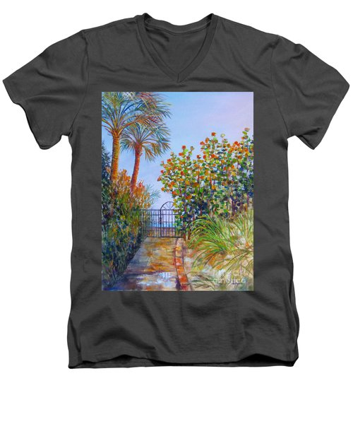 Gateway To Paradise Men's V-Neck T-Shirt