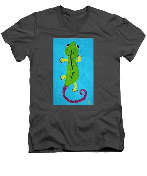 Gecko Gecko Men's V-Neck T-Shirt