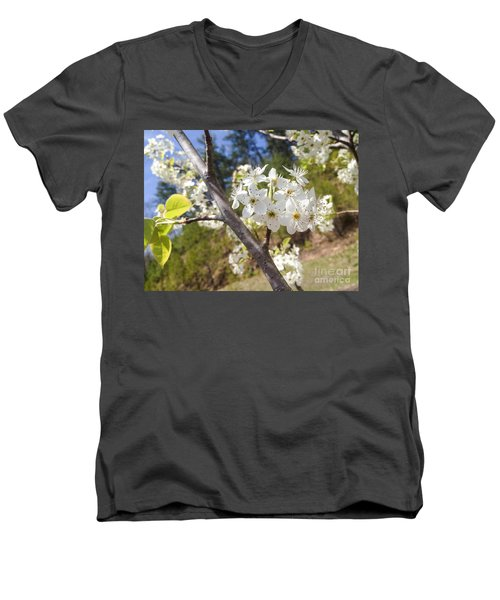 Georgia Blossoms Men's V-Neck T-Shirt