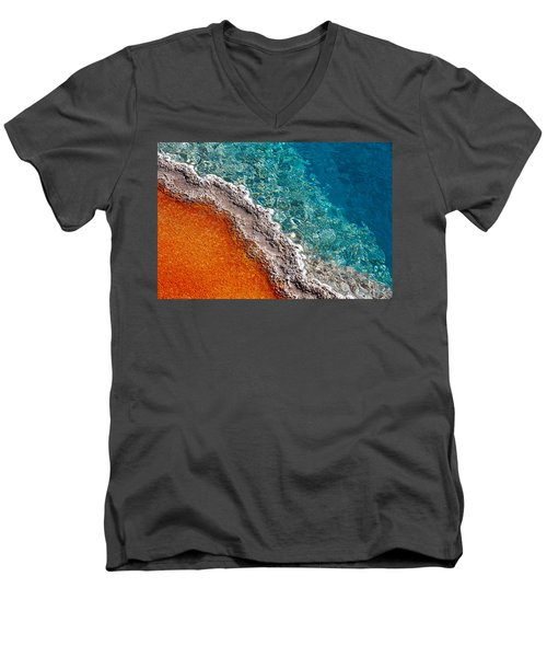 Geothermic Layers Men's V-Neck T-Shirt