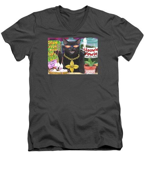 Get Your Nip On Men's V-Neck T-Shirt