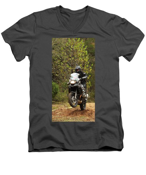 Getting Some Air Men's V-Neck T-Shirt