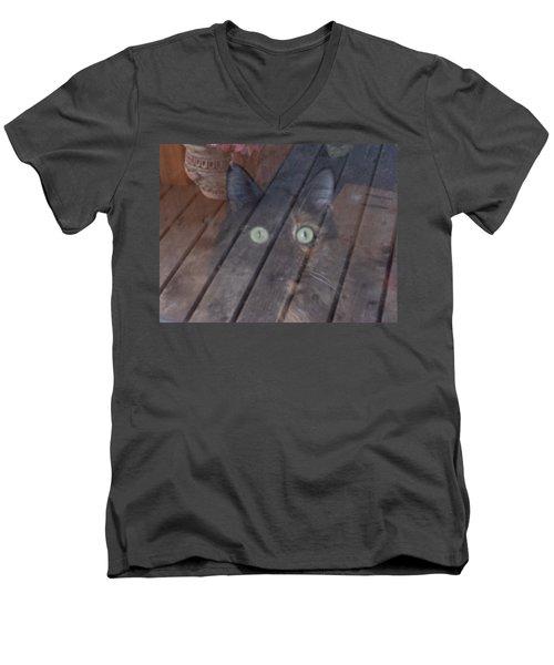 Ghostly Men's V-Neck T-Shirt
