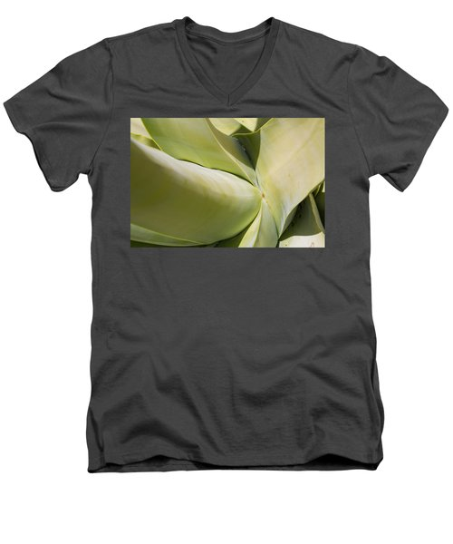 Giant Agave Abstract 9 Men's V-Neck T-Shirt