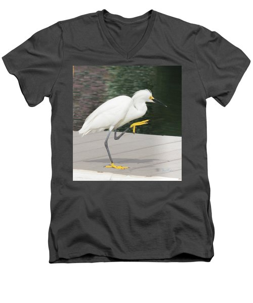 Gimmie Five Errr Four Men's V-Neck T-Shirt