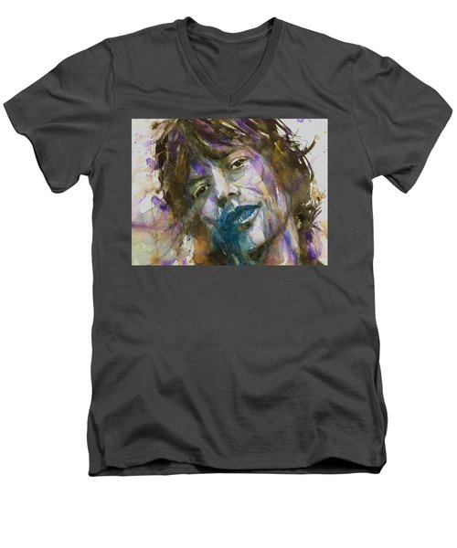 Gimmie Shelter Men's V-Neck T-Shirt