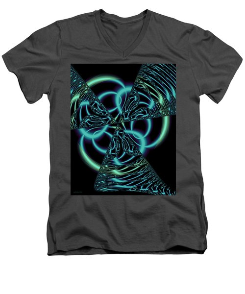 Gingezel 1 The Limit Men's V-Neck T-Shirt