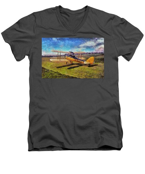 Gipsy Moth Men's V-Neck T-Shirt