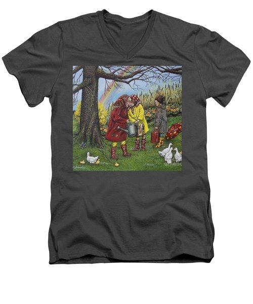 Girls Are Better Men's V-Neck T-Shirt