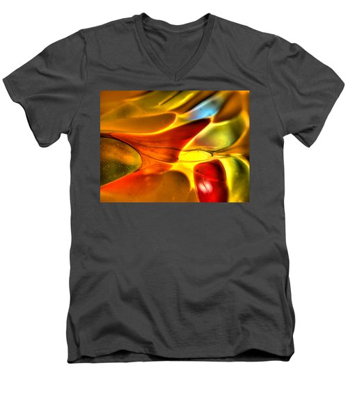 Glass And Light Men's V-Neck T-Shirt