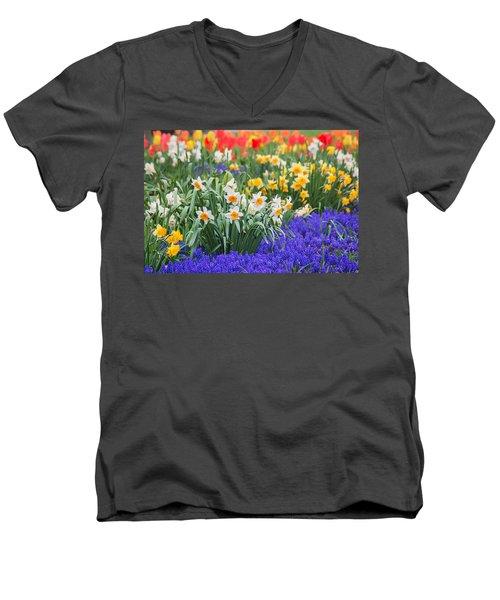 Glorious Spring Men's V-Neck T-Shirt