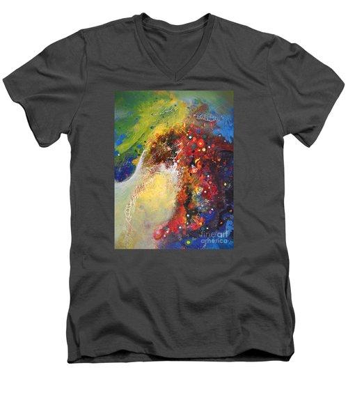 Glory Of Nature Men's V-Neck T-Shirt