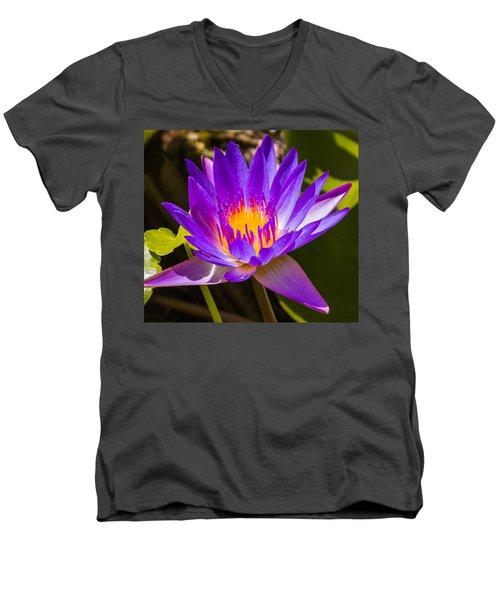 Glowing From Within Men's V-Neck T-Shirt