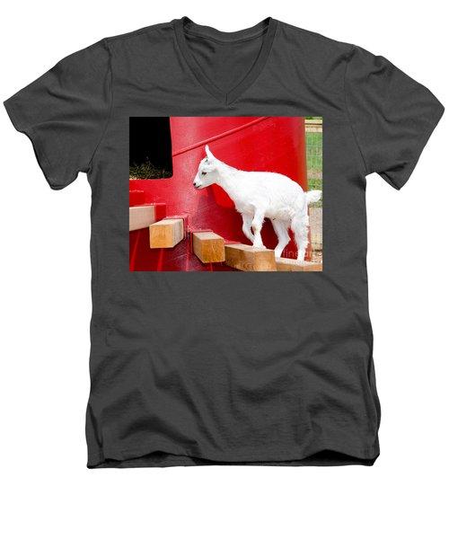 Kid's Play Men's V-Neck T-Shirt