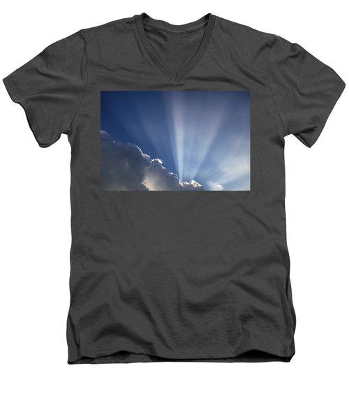 God Rays Men's V-Neck T-Shirt