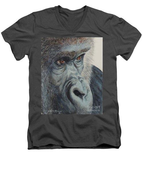 Going Ape...sold  Men's V-Neck T-Shirt