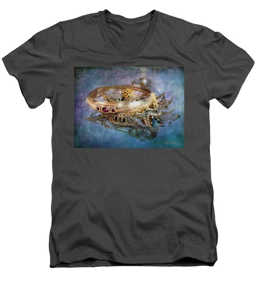 Gold Treasure Men's V-Neck T-Shirt