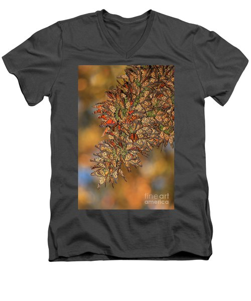 Golden Cluster Men's V-Neck T-Shirt