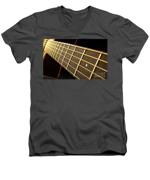 Men's V-Neck T-Shirt featuring the photograph Golden Days by Andrea Anderegg