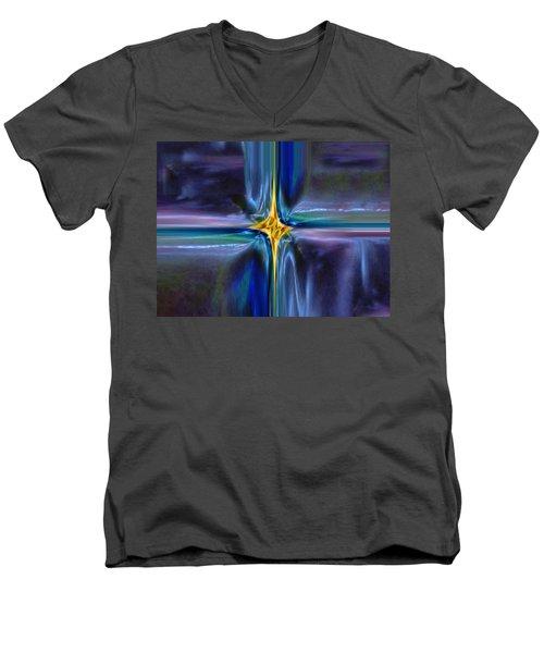 Golden Entity Men's V-Neck T-Shirt
