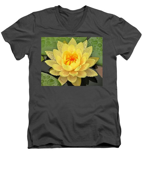 Golden Lily Men's V-Neck T-Shirt