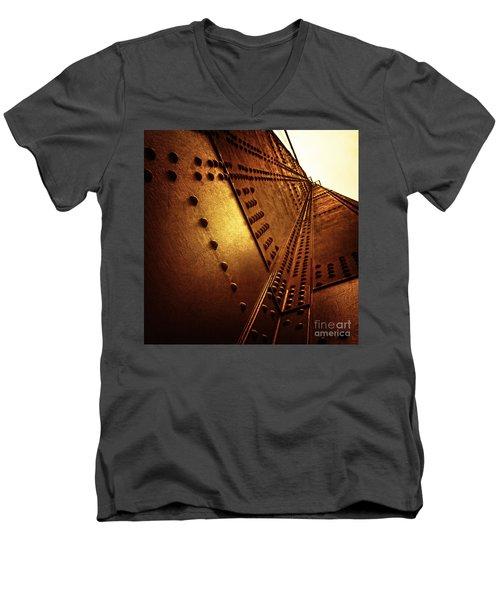 Golden Mile Men's V-Neck T-Shirt