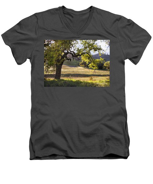 Golden Oaks Men's V-Neck T-Shirt