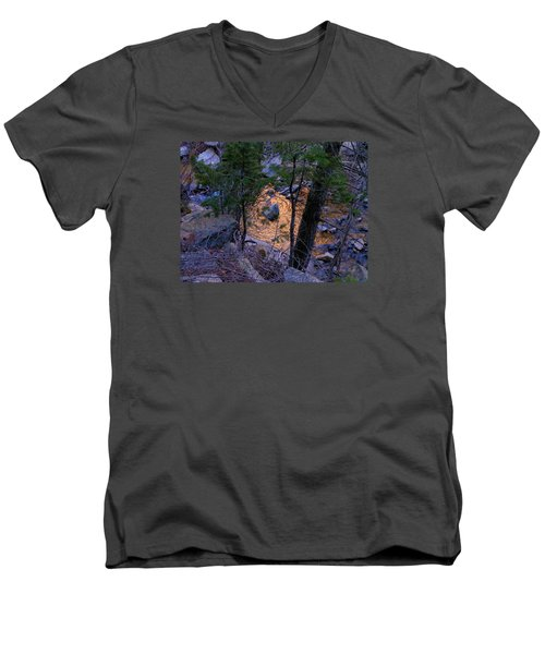 Golden Pond  Men's V-Neck T-Shirt
