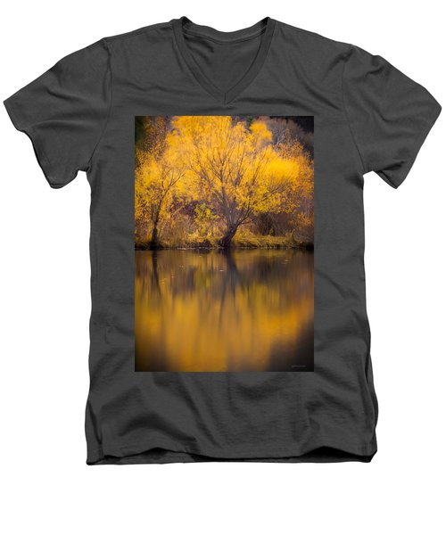 Golden Pond Men's V-Neck T-Shirt