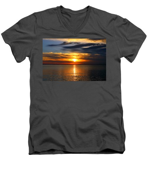 Golden Sun Men's V-Neck T-Shirt