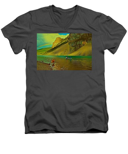 Golden Voyage Men's V-Neck T-Shirt