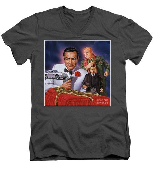 Goldfinger Men's V-Neck T-Shirt