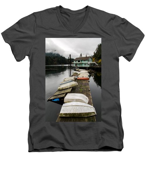 Goldstream Marina Men's V-Neck T-Shirt