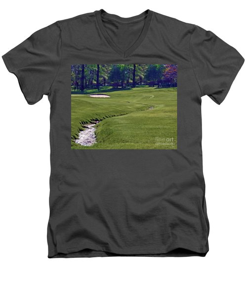 Golf Hazards Men's V-Neck T-Shirt