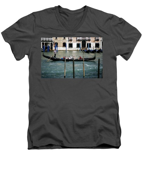 Gondola Jaunt Men's V-Neck T-Shirt