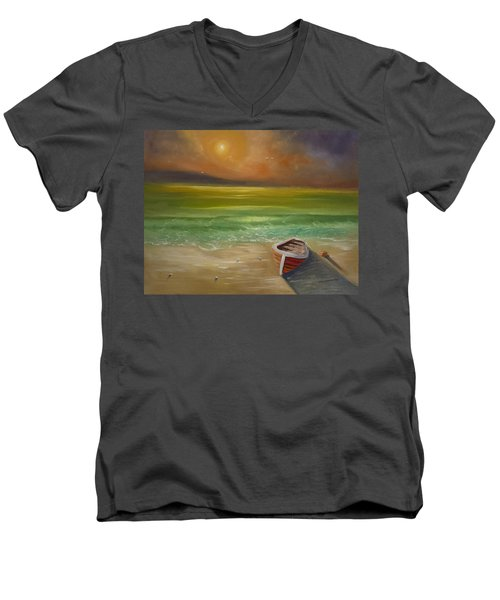 Gone For The Weekend Men's V-Neck T-Shirt