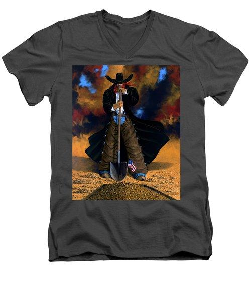 Gone Too Soon Men's V-Neck T-Shirt