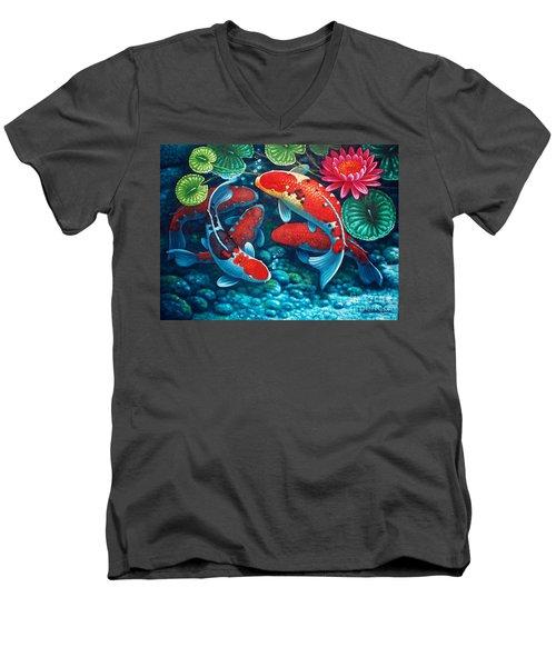 Good Fortune Men's V-Neck T-Shirt