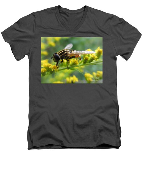 Good Guy Hoverfly  Men's V-Neck T-Shirt